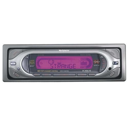 CDXCA810X Fm/am Compact Disc Player