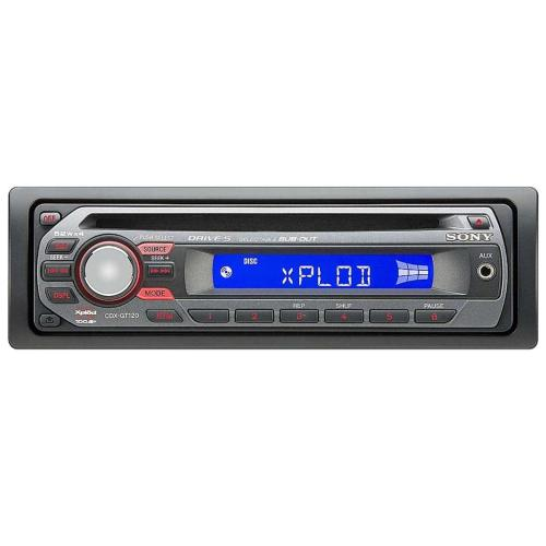 CDXGT120 Fm/am Compact Disc Player