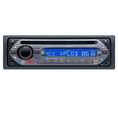 CDXGT200 Fm/am Compact Disc Player