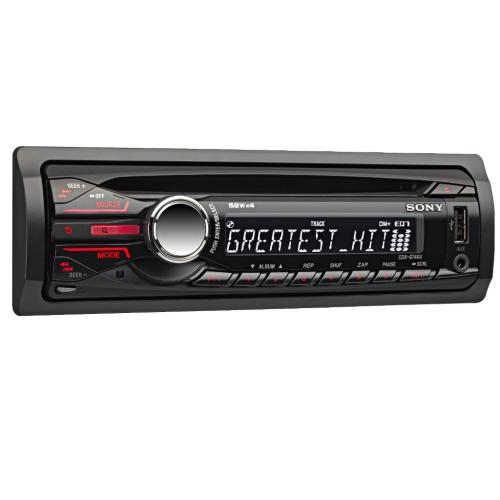 CDXGT40U Fm/am Compact Disc Player