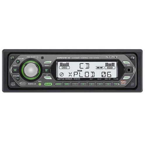 CDXGT40W Fm/am Compact Disc Player