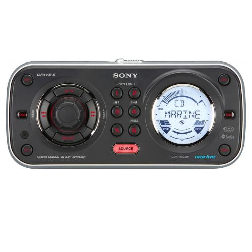CDXH905IP Fm/am Splash-proof Marine Cd Player Receiver With Ipod