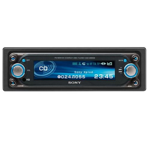 CDXM9900 Fm/am Compact Disc Player