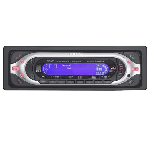 CDXMP40 Fm/am Compact Disc Player