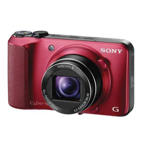 DSCHX10V/R Cyber-shot Digital Still Camera; Red