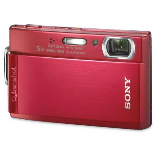 DSCT300/R Cyber-shot Digital Still Camera; Red