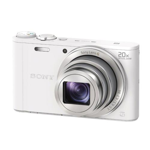 DSCWX350/W Point And Shoot Digital Still Camera; White