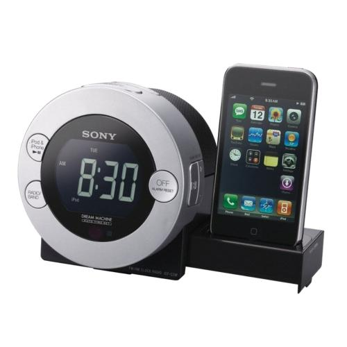 ICFCD3IPSIL Cd Clock Radio For Ipod And Iphone