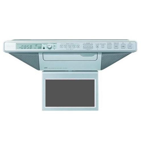 ICFCD555TV Kitchen Tv Clock Radio