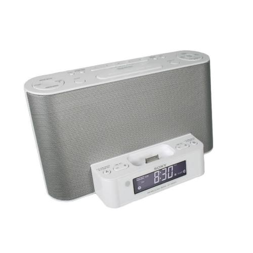 ICFCS10IPWHT Fm/am Clock Radio