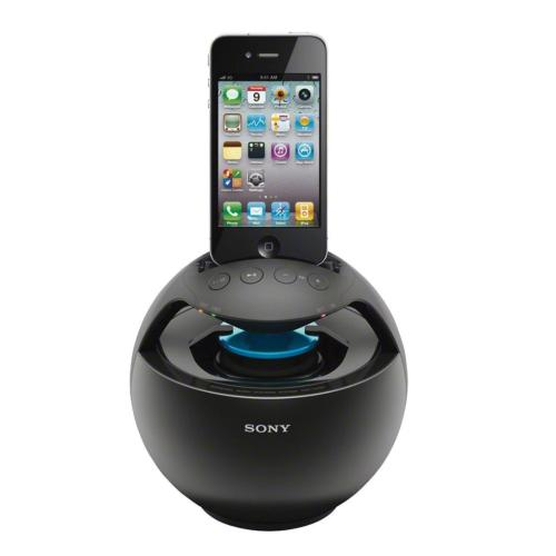 RDPV20IPBLK Speaker Dock For Ipod And Iphone