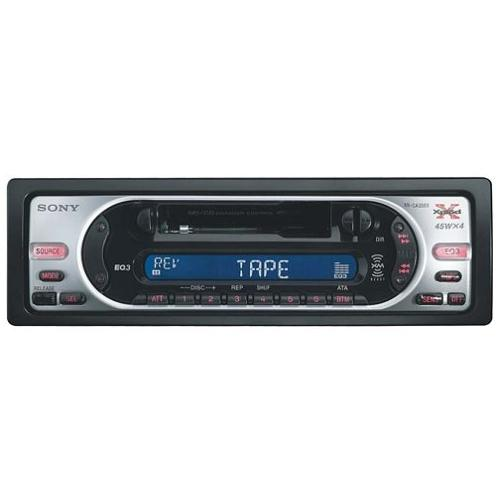 XRCA350X Fm-am Cassette Car Stereo
